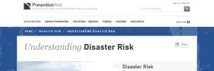 PreventionWeb by UNISDR