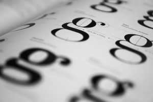 We limit the number of font families within one project to 2-3.