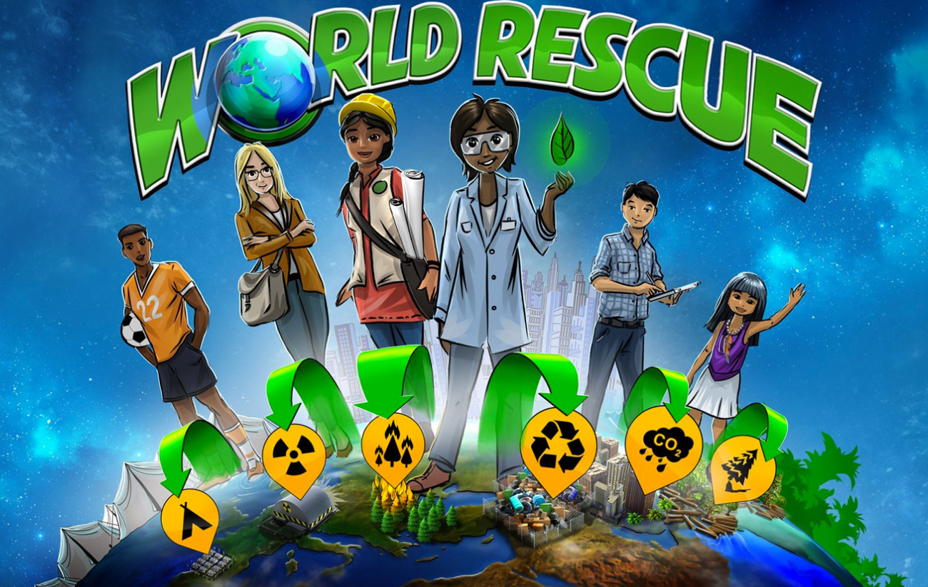 This is where World Rescue comes into play: While enjoying the video game, kids (and adults as well, of course) simultaneously learn about urgent global challenges and how to tackle them.